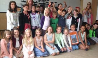 Vi får besøk av elever fra Herstad skole 31. august