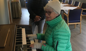 Nytt orgel til Sanitetshuset!